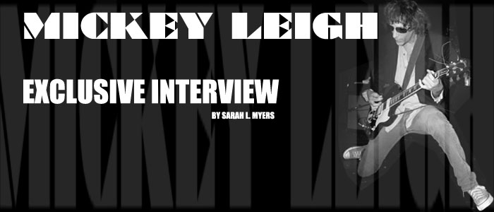Mickey Leigh - Exclusive Interview