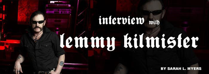 Exclusive interview with Lemmy Kilmister of Head Cat