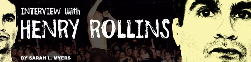 Interview with Henry Rollins