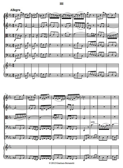 From Bassoon Concerto - 3rd Movement