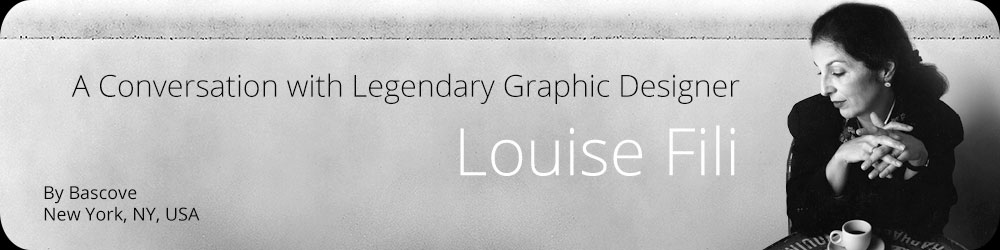 A Conversation with Legendary Graphic Designer Louise Fili