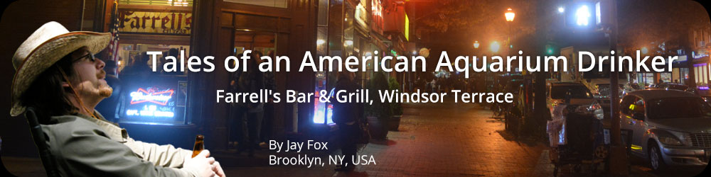 Tales of an American Aquarium Drinker - Farrell's Bar and Grill, Windsor Terrace