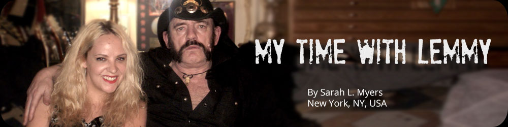 My Time with Lemmy