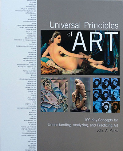 Cover. Universal Principles of Art. (Rockport Publishing)
