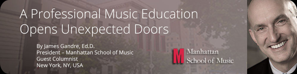 A Professional Music Education Opens Unexpected Doors